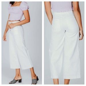 We the Free Collette Wide Leg High Waisted Pant 30